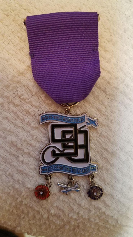 SA 99s fiesta medal